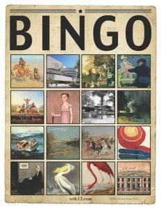 American Art History Bingo for Volumes III & IV 40