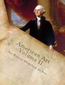 Cover from American Art History Volume II by Kristin Draeger