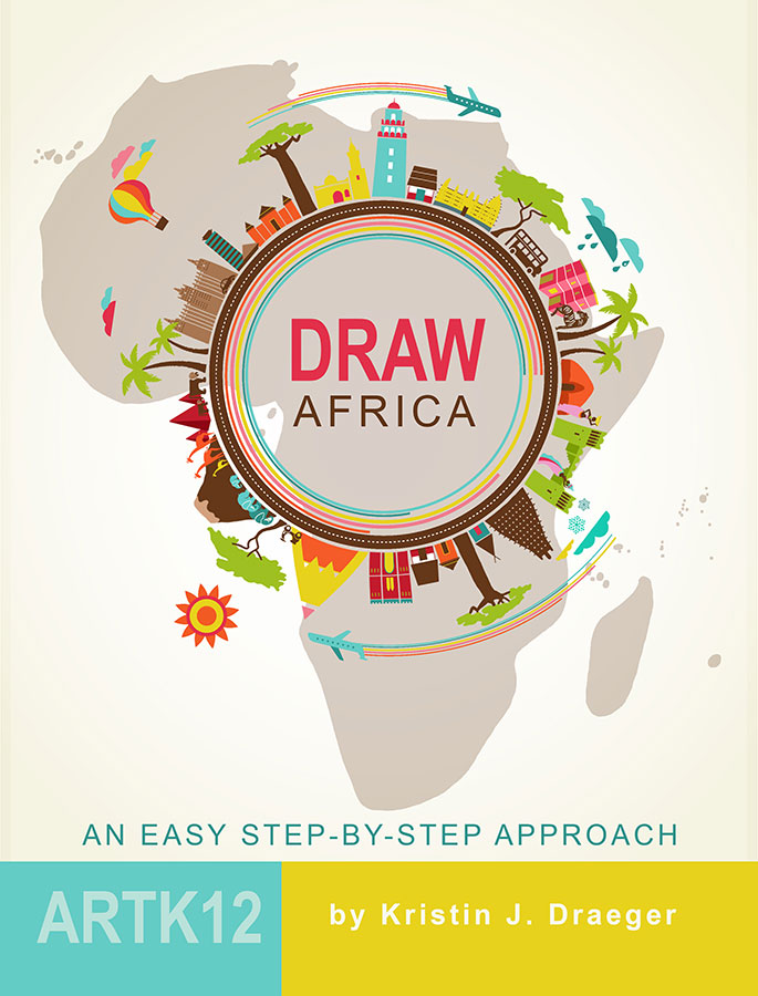 draw africa an easy step by step approach artk12