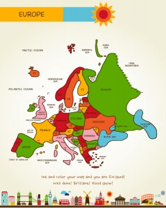 Draw Europe by Kristin Draeger, Page 68