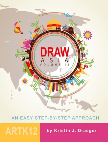 Cover of Draw Asia, Vol. II by Kristin Draeger