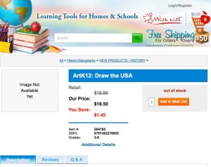Rainbow Resource Center Draw USA Page