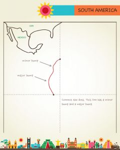 Draw Mexico, Central & South America, page 15, by Kristin Draeger