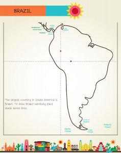 Draw Mexico, Central & South America, page 38, by Kristin Draeger