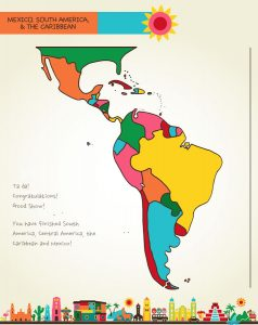 Draw Mexico, Central & South America, page 70, by Kristin Draeger