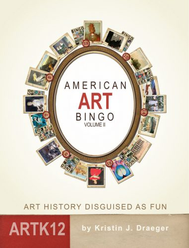 American Art BIngo Volume II by Kristin J. Draeger