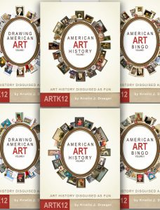 American Art History, Full Year Set, Six Books by Kristin J. Draeger