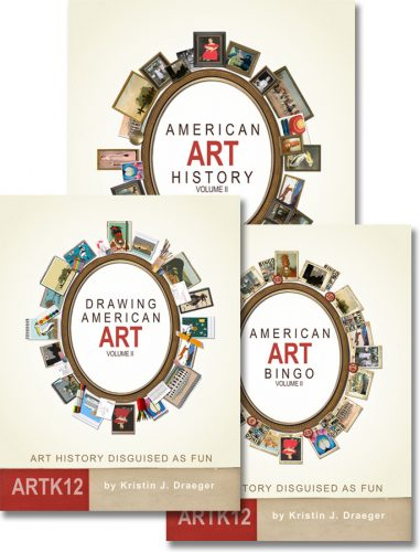 American Art History, Semester 2 (3 books)