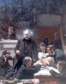 Thomas Eakins, 1844-1916, The Gross Clinic, (Portrait of Dr. Samuel D. Gross), 1875, Oil on canvas, 94.5 x 78.7 in.