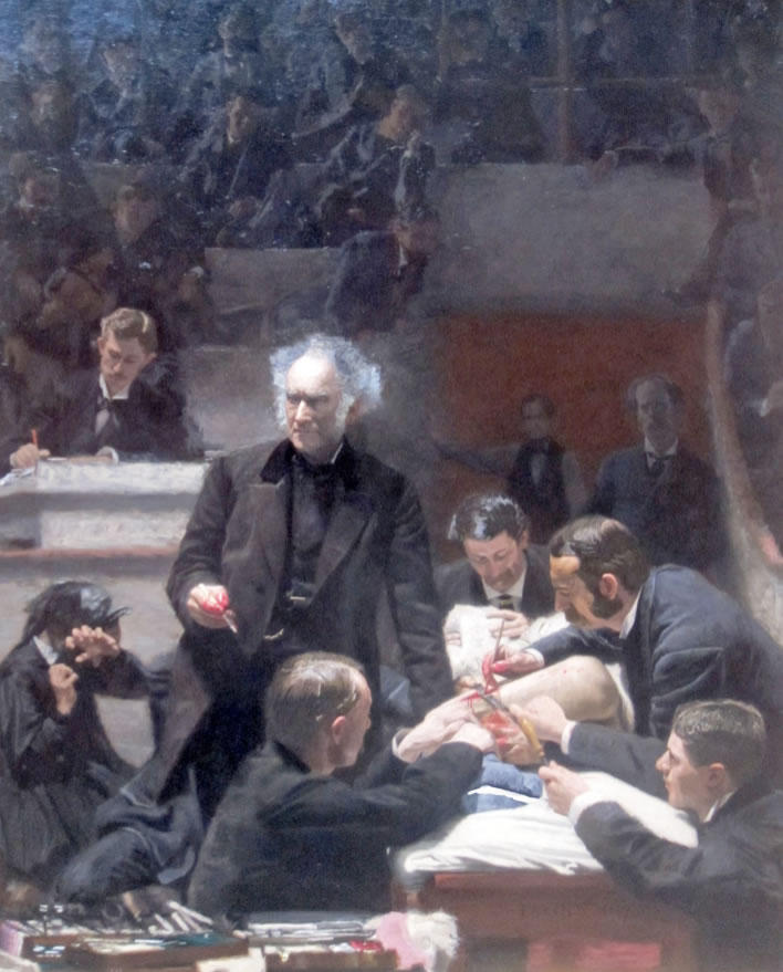 Thomas Eakins1844-1916The Gross Clinic(Portrait of Dr. Samuel D. Gross)1875Oil on canvas94.5 x 78.7 in.