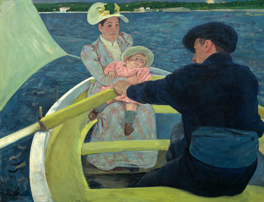 Mary Cassatt1844-1926The Boating Party1893-94Oil on canvas35 7/16 x 46 3/16 in.