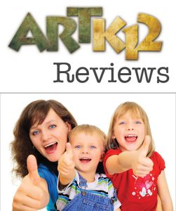 ARTK12 Reviews, Mother and her son and daughter showing a thumbs up