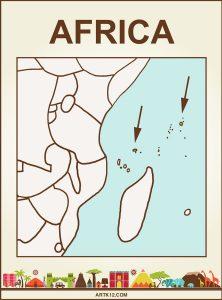 Africa Bingo: Flash Card Country: Seychelles