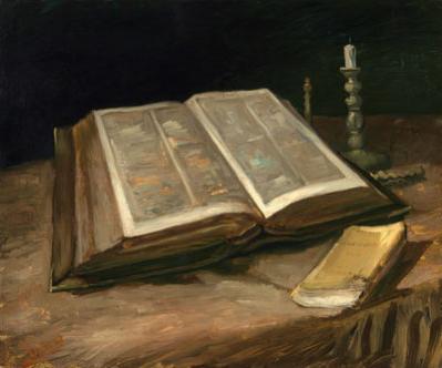 Vincent van Gogh: Still Life with Bible