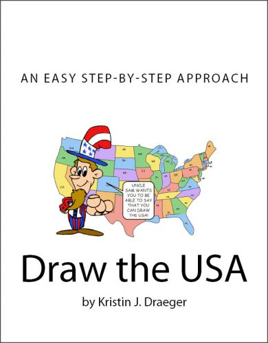 Old Draw the USA Book Cover