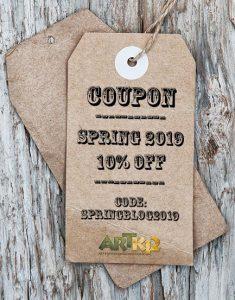 ARTK12 Spring Coupon: SPRINGBLOG2019