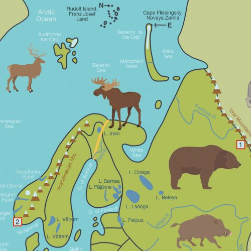 Geography Map Detail 3