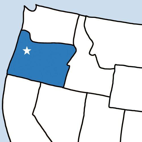 USA Bingo: Oregon
