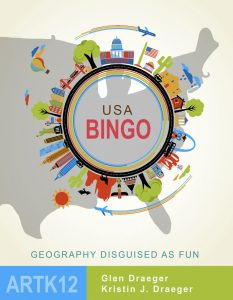 USA Bingo Cover: Geography Disguised as Fun