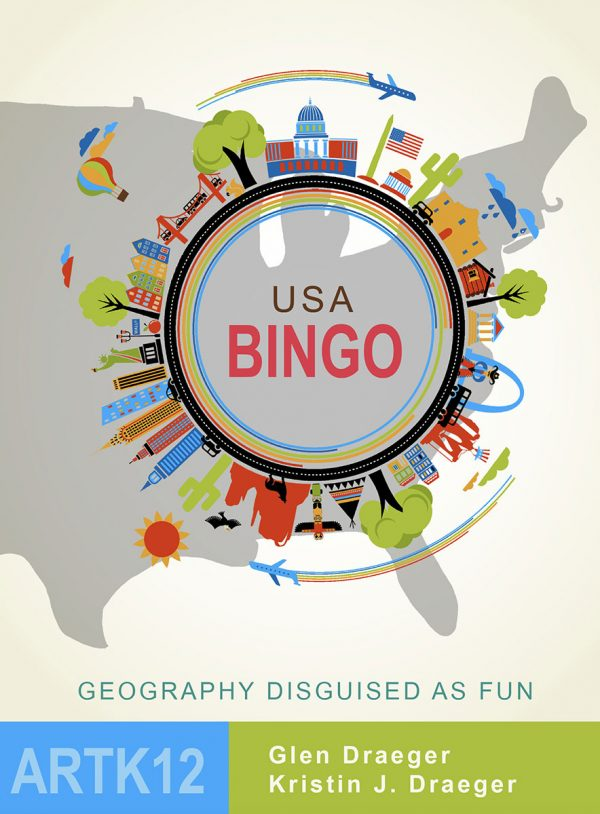 USA Bingo Cover: ARTK12 by Glen Draeger and Kristin J. Draeger