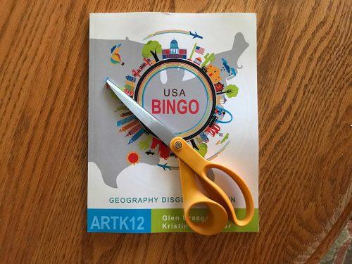USA Bingo with Scissors