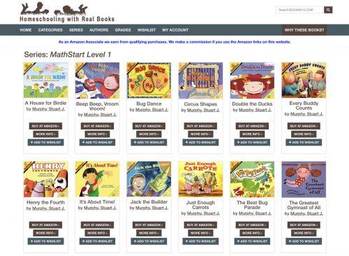 The Math Starts series on Booksk12.com