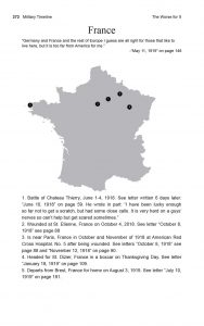The Worse for It: Robert E. Schalles' Military Timeline: France Map