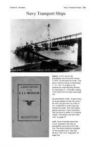 The Worse for It: Robert E. Schalles' Transport Ship, U.S.S. Huron